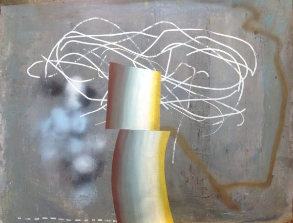 Jordi Gali - Vida Sintetica 73x95cm, 2013