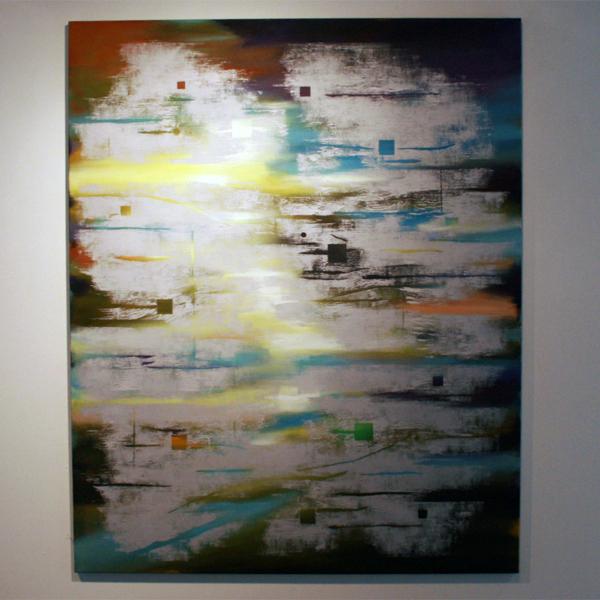 Joris Geurts - Zonder Titel - 185x150cm Olieverf en acrylverf op linnen
