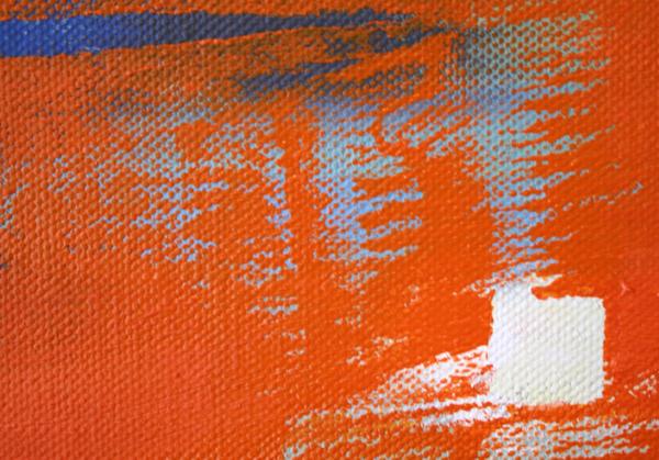 Joris Geurts - Zonder Titel - 75x65cm Olieverf en acrylverf op linnen (detail)