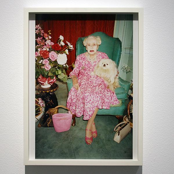Juergen Teller - Dame Barbara Cartland, Hertfordshire - C-Print 2000