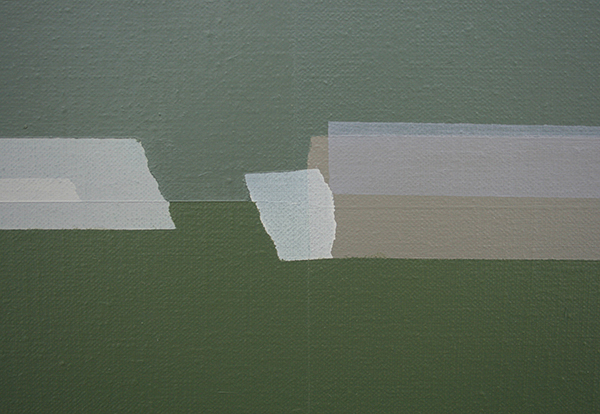 Kees Goudzwaard - Collected - 125x250cm Olieverf op canvas (detail)