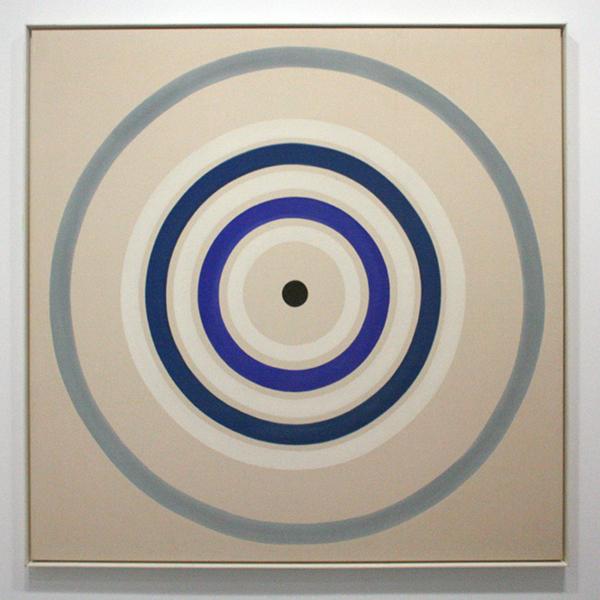 Kenneth Noland - Spring Cool - Acrylverf op doek