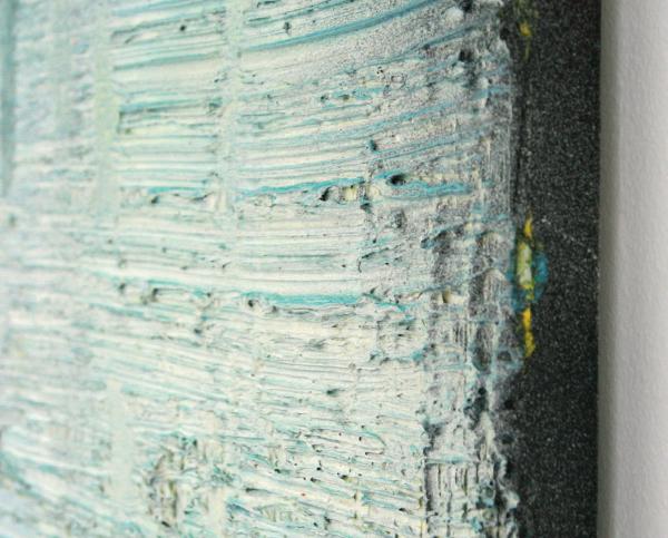 Koen Delaere - Untitled - 110x190cm Olieverf en spuitbus op canvas (detail)