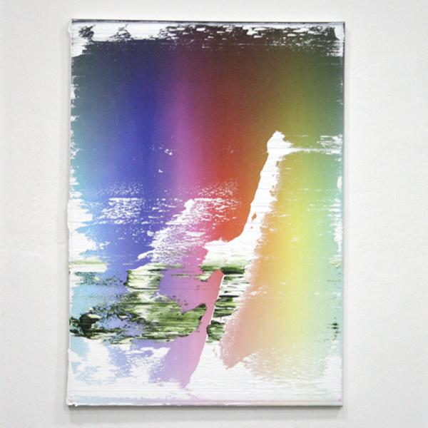 Koen Delaere - Zonder Titel - 70x50cm Mixed media op canvas