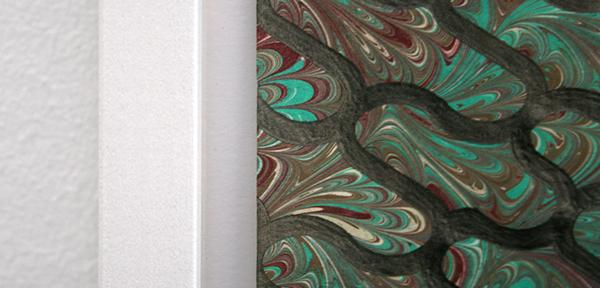 Koen Taselaar - PatternPattern #12 - 70x49cm Potlood op patroonpapier (detail)