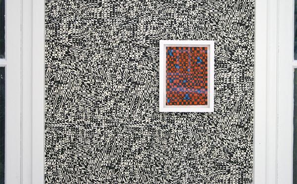 Koen Taselaar - Simulacrum, Jelly, Peaks, Parallax - 21x15cm Inkt en collage op papier