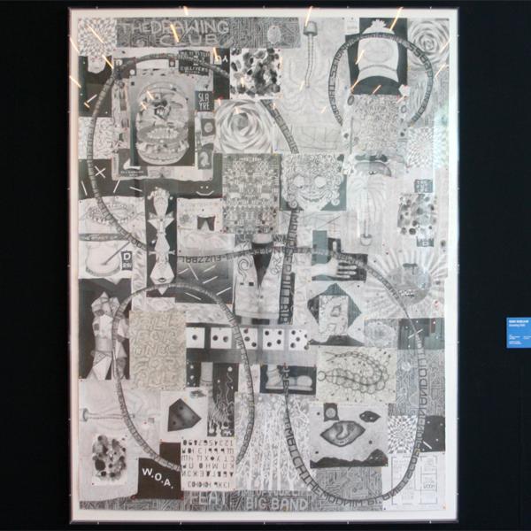 Koen Taselaar - The Drawing Club - Potlood en collage op papier