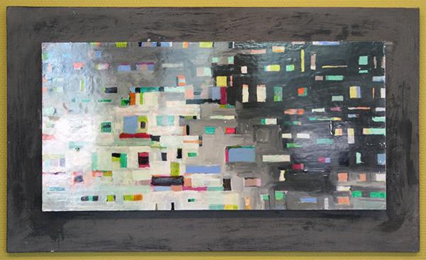 Kris Duys - Zonder Titel - 44x74cm Olieverf op paneel
