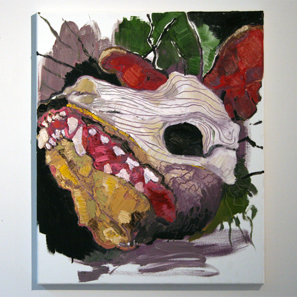 Larissa van Zanen - Untitled - 60x50cm Olieverf op canvas