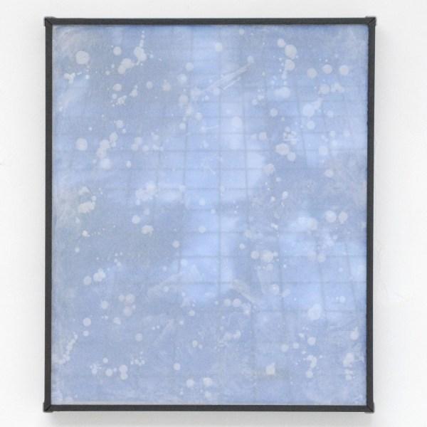 Lennart Lahuis - Facade III - 60x50cm Inkjet print op hout en bijenwas op papier