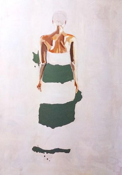 Liselot Roben - Geen Titel - 145x200x5cm Olieverf op linnen, 2014