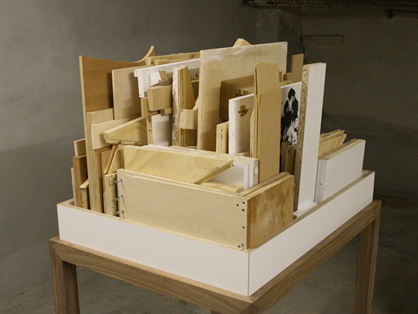 Loek Grootjans - Storage for Distorted Matter (obj 0011) 21th century sculpture masterpiece that could not be made - Object