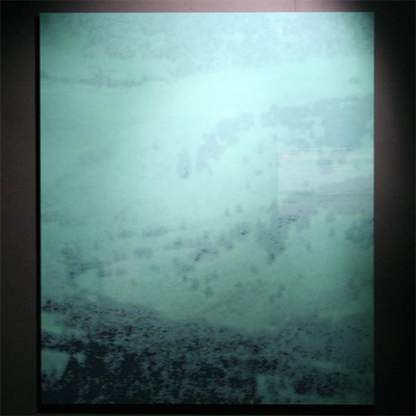 Loek Grootjans - Zonder Titel - 128x150cm Lamdaprint op papier op dibond onder perspex