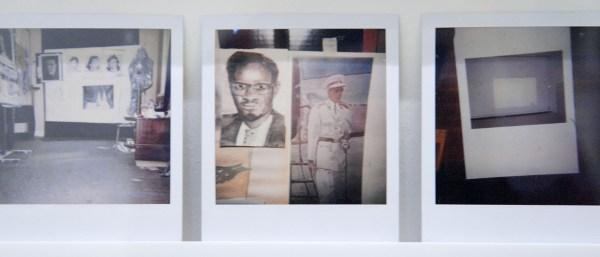 Luc Tuymans - 100 Polaroids (detail)