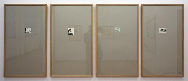 Luc Tuymans - Recherches - 4 Zeefdrukken gemonteerd op grijs karton oplage 100 + 10 AP