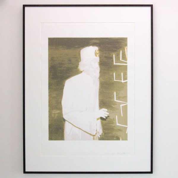 Luc Tuymans - The Woreshipper - 75x105cm Prent