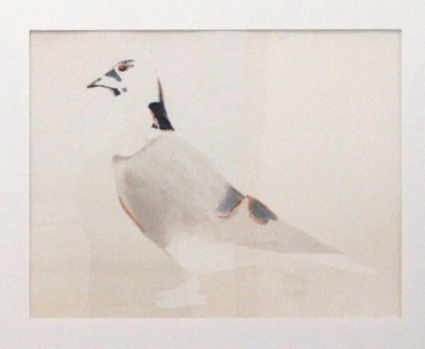 Luc Tuymans - Untitled (The Romour) - Zeefdruk in 7 kleuren op BFK Rives papier oplage 15 + 5 AP