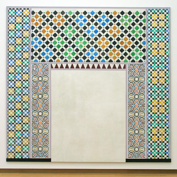 Lucy McKenzie - Alhambra Motifs I - Olieverf op doek