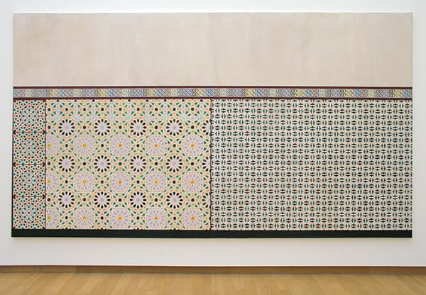 Lucy McKenzie - Alhambra Motifs III - Olieverf op doek
