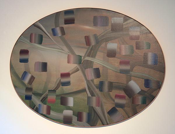 Ludmila Danon - Zonder Titel - 80cm Acrylverf op doek