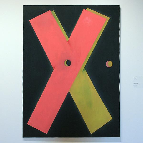 Maarten Ploeg - Y X - Olieverf op doek 1985
