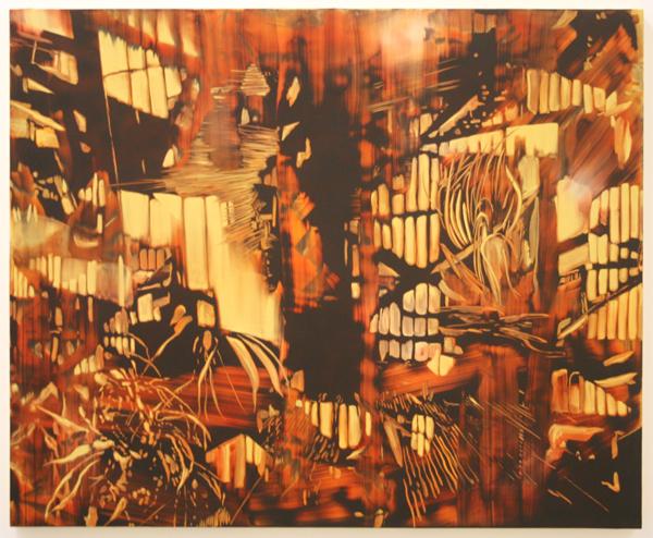 Maartje Overmars - Eternal Sunshine - 100x120cm Olieverf op MDF