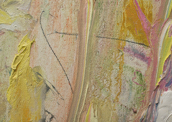 Marc Mulders - Le Jardin d'eau - 160x270cm Olieverf op doek (detail)