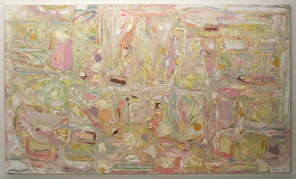 Marc Mulders - Le Jardin d'eau - 160x270cm Olieverf op doek