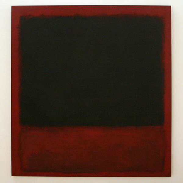 Marc Rothko - Untitled (Black, Red over Black on Red)