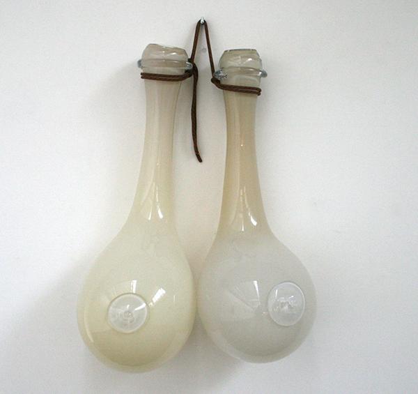 Maria Roosen - Beige borst - 120cm Glas