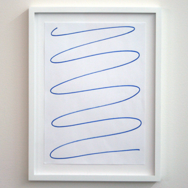 Marijn van Kreij - Untitled - 30x21cm Acrylmarker op papier