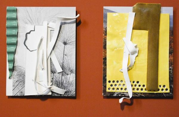 Marjolijn de Wit - 04 & 03 Zonder Titel - Porselein op print, €1040,-