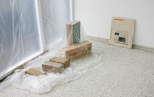 Mark Manders, Perspective Study