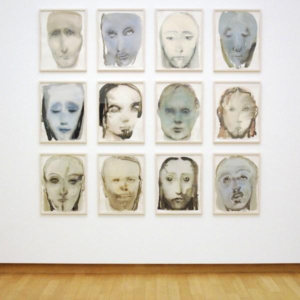 Marlene Dumas - Jesus Serene - Inkt, aquarel en grafiet op papier, 1994