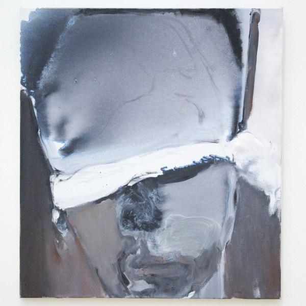 Marlene Dumas - The Blindfolded Man- Olieverf op doek, 2007