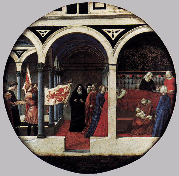 Masaccio - Birth salver