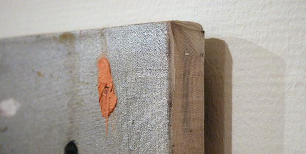 Michiel Ceulers - Trouble Spot Painting - Olieverf en acrylverf op doek (detail)