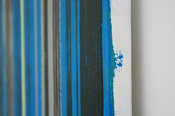 Mike Ottink - Terra Form Dawn - 200x150cm Inkt en acrylverf op canvas (detail)