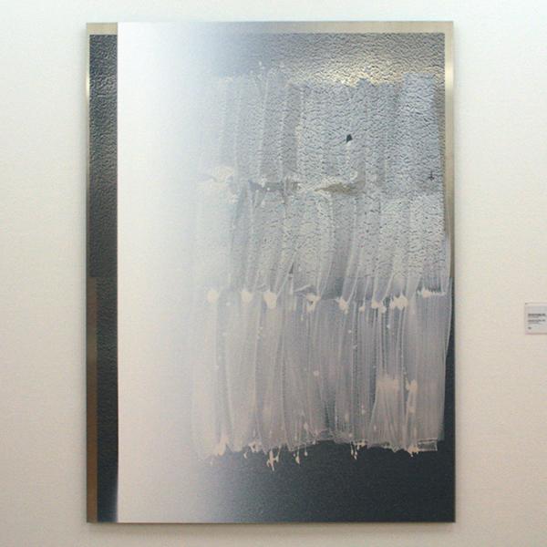 Nathan Hylden - Untitled - 197x145cm Acrylverf op aluminium