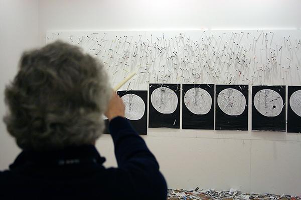 Navid Nuur - (onbekende titel, installatie Art Rotterdam)