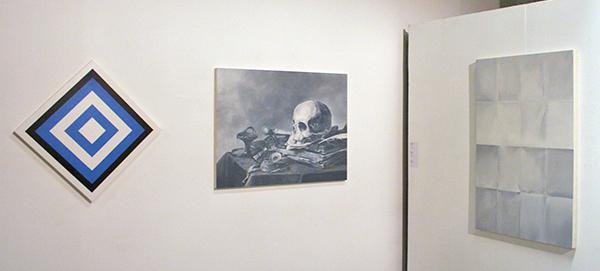 Niek Hendrix - Diverse werken - Olieverf op canvas op paneel