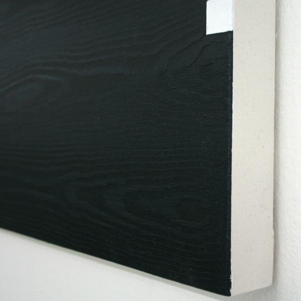 Niek Hendrix - Preposities - 131x31cm Olieverf op doek op paneel (detail)