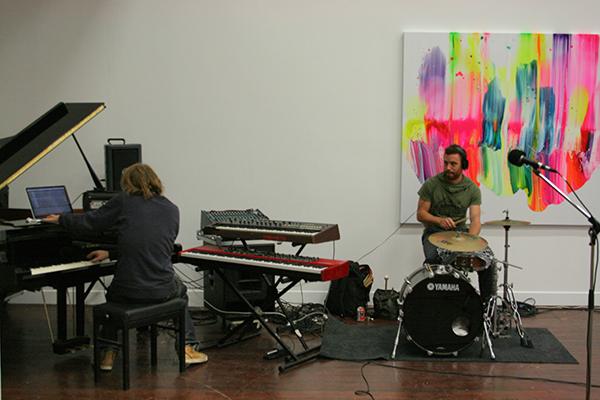 Niels Broos (en drummer waarvan de naam me is ontschoten)