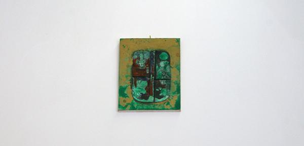 Niels Broszat - Kazuifel uit goed en groen damast