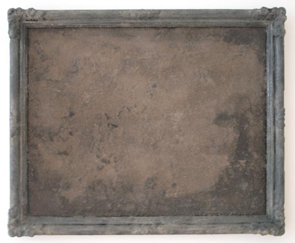 Otto Egberts - Retour - 78x61cm Lijst, grafiet en pigment