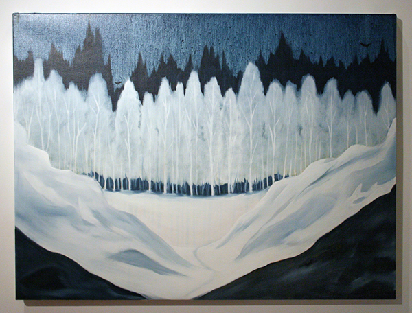Par Stromberg - Of Ice and Movement II - 90x120cm