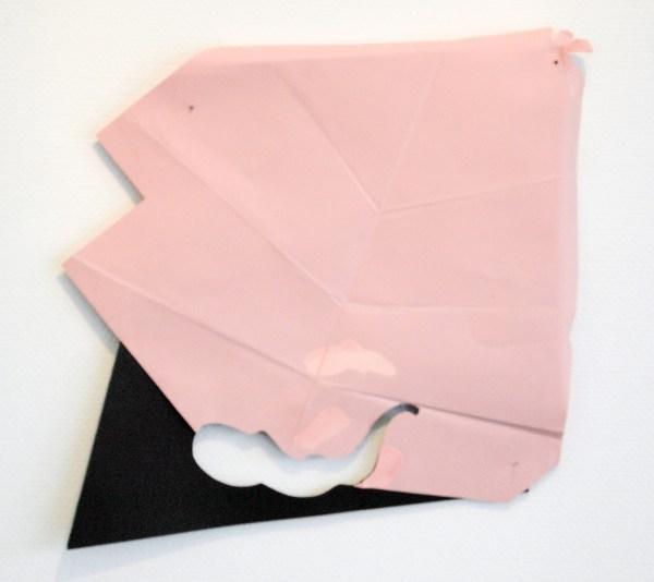 Paul Drissen - Blad Vouw Gat - 47x47x6cm Papier
