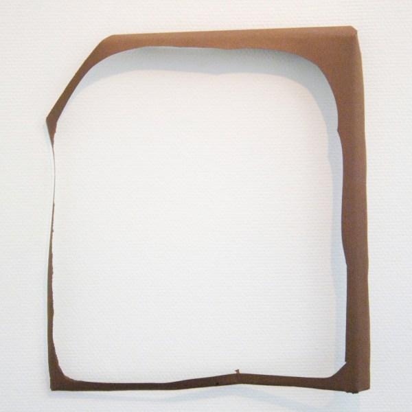 Paul Drissen - Vlak Gat - 52x46x8cm Papier