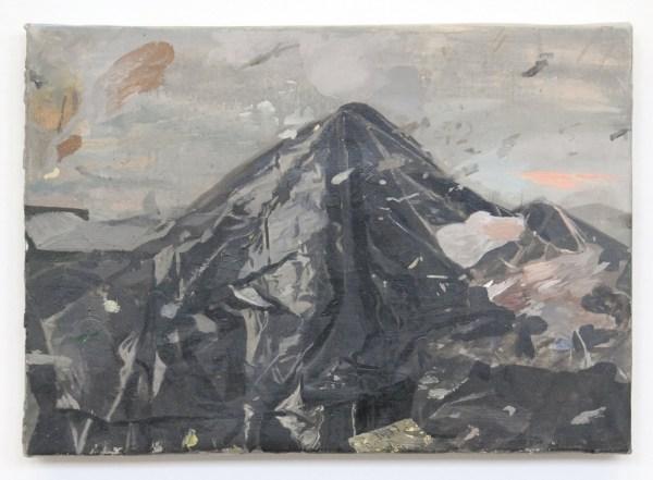 Pere Llobera - Presagio (Premonition) - 31x43cm Olieverf op canvas 2013