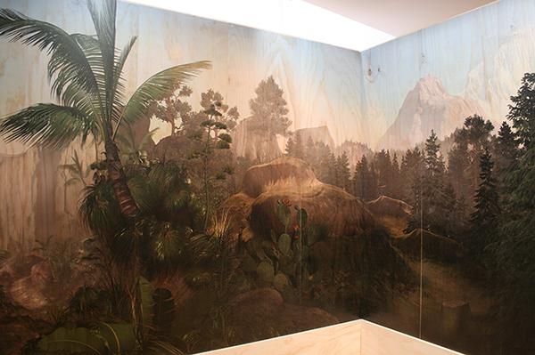 Persijn Broersen & Magrit Lukacs - Les Zones Terrestres - 430x310x280cm, Print op multiplex (detail)